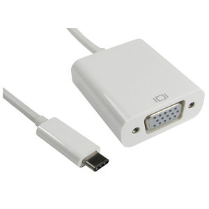 USB Type C to VGA Adapter Cable