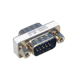 VGA Gender Changer SVGA Male to Male Adapter