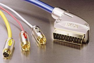 IXOS XHT501-150 1.5m S-Video & 2 RCA to Ingot Scart Lead