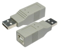 USB 1.1 Gender Changer A Plug B Socket